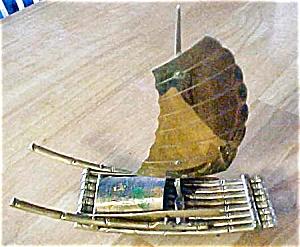 Brass Oriental River Boat (Image1)