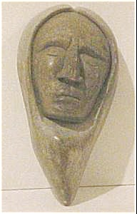 Iroquois Sculpture of 'Face' (Image1)