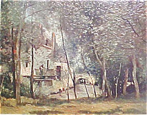 Vintage Print  - Mill At Saint Nicolas (Image1)
