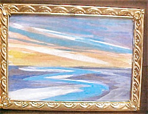 Abstract  Painting by Local Montana Artist (Image1)