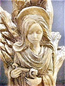 Fanciful Free Form Angel Candlestick (Image1)