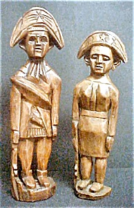 Colonial Style Wooden Soldiers