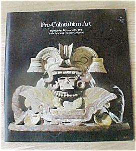 Pre-Columbian Art Catalog - 2/25/81 (Image1)