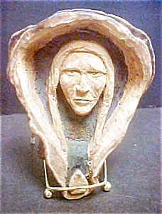 Unusual Native American Carving of Male (Image1)