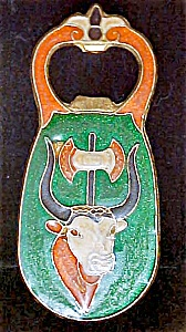 Egyptian Cloisonne Bottle Opener - Two Sided (Image1)
