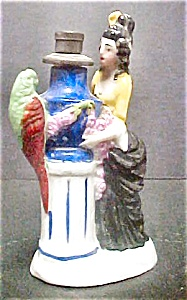 Victorian Style Figural Cologne Bottle (Image1)