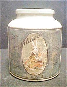 Dr. O'Hare's Liniment Crock - Vintage Label (Image1)