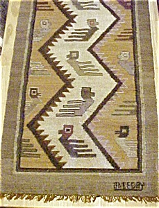 Tapestry pre-Columbian Style Rug/Runner (Image1)