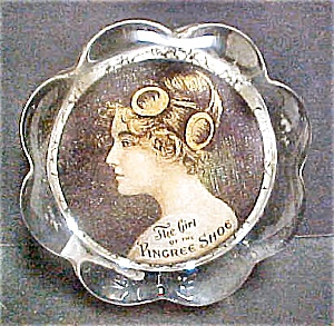 The Girl Of The Pingree Shoe Paper Weight
