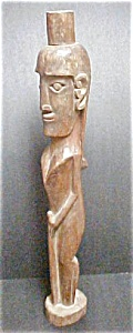 Wooden Wellness Effigy Figure - Sumatra (Image1)