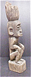 Indonesian Male Ancestor Figure