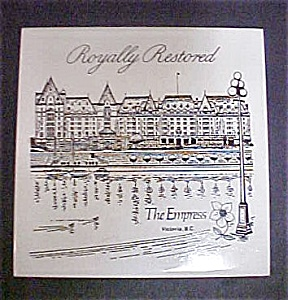The Empress Victoria, B.C. Tile (Image1)