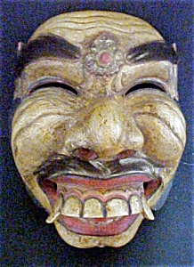 Superb Old Balinese Ceremonial Mask (Image1)