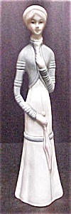Ceramic Victorian Style Lady Figurine (Image1)