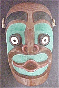 Tsonoqua the Wild Woman Mask by Shamans (Image1)