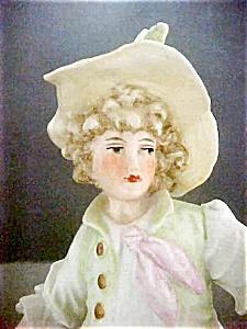 Bisque German Figurine Period Dress (Image1)