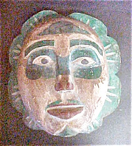 Northwest Coast  Style Wood Mask (Image1)