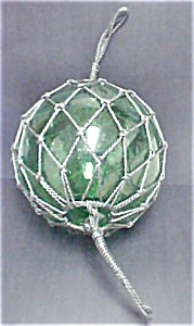 Portuguese Glass Fishing Float - 20th C
