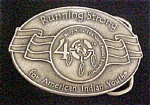 American Indian Youth Belt Buckle (Image1)