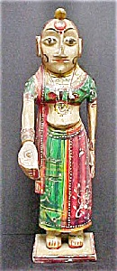 Asian Indian Female Statue - 20th Century (Image1)