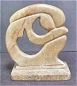 Soapstone Sculpture of Young Woman (Image1)