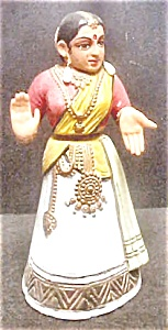 Hand-made Kondapalli Doll From India