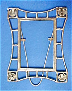 Vintage Metal Arts and Crafts Style Frame (Image1)
