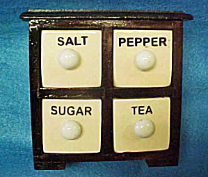 Storage Box - Salt, Pepper, Tea and Sugar (Image1)