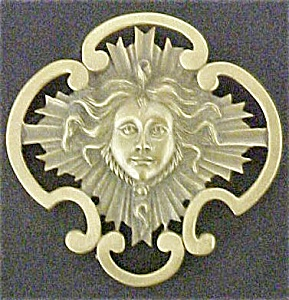 Figural Mask Pin (Image1)