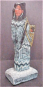 American Indian Female Figure - Signed (Image1)