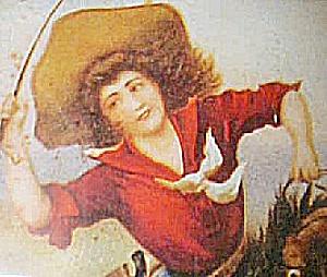 Western Cowgirl Print  Framed (Image1)