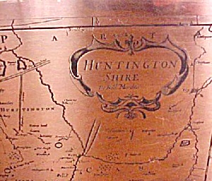 Copper  Map - Huntington Shire - England (Image1)