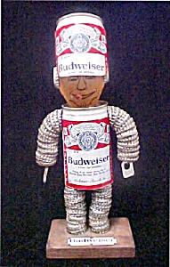 Vintage Unique Handmade Budweiser Figure (Image1)