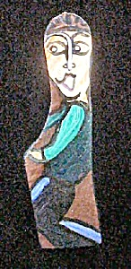 Outsider Art Folk Art Figure from Georgia (Image1)