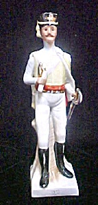 Ceramic Soldier Figure in Period Dress (Image1)