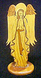 Wood Angel Entitled - Reverence - Signed (Image1)