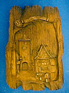 Vintage Rothenburg O.d. Tauber Plaque