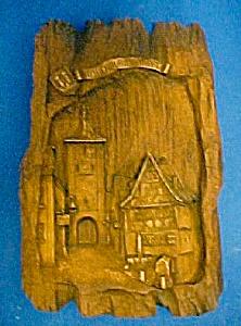 Vintage Rothenburg O.D. Tauber Plaque (Image1)