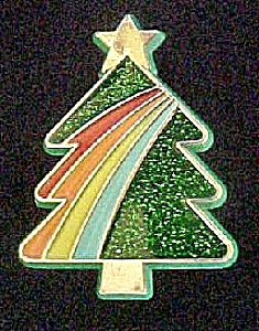 Hallmark Christmas Tree Pin - 1985 (Image1)