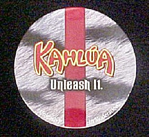 Set 4 Kahlua Coasters In Kahlua Tin