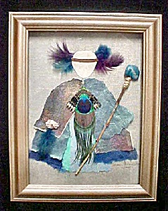 Mixed Media Art - Native American Theme (Image1)