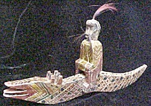 China Yao Figure - Serpent With Rider (Image1)