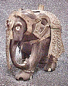 Asian Indian Elephant - Bedecked (Image1)