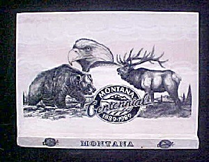 Montana Centennial - Marble Etched w/Wildlife (Image1)