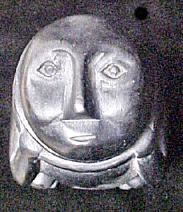 Tribal Wooden Figural Box - Philippines (Image1)