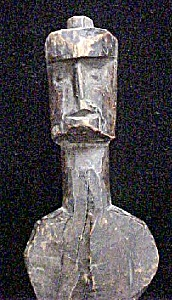 Native American Carved Woodland Figure (Image1)