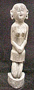 Ebony Female Figure -Massim (Image1)