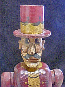 Contemporary Folk Art Style Top Hat Villain (Image1)