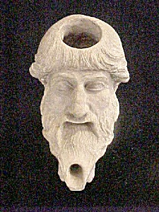 Figural Greek/Roman Oil Lamp - Reproduction (Image1)