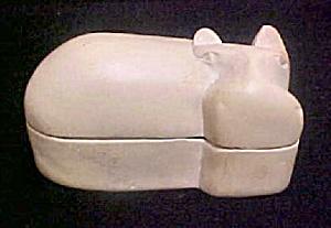 Hippopotamus Box - Kissi Stone - Kenya (Image1)